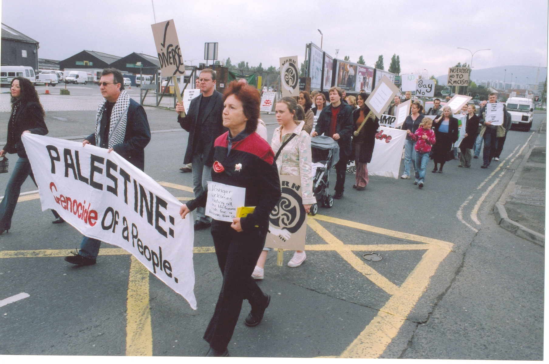 WARN contingent on Stop The Attacks Rally