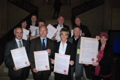 West Belfast MLAs sign an Anti Racism Pledge of Office