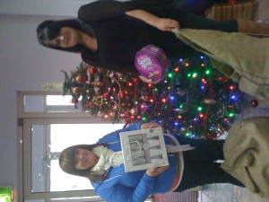 Thanks to Breidge and Viccki from Falls Community Council for co-ordinating our Xmas appeal for NICRAS